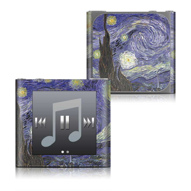 Starry Night iPod nano 6th Gen Skin
