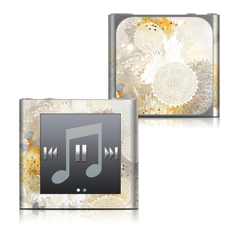 White Velvet iPod nano 6th Gen Skin