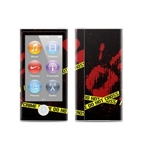 Crime Scene iPod nano 7th Gen Skin