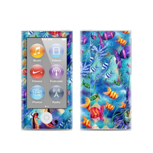 Harlequin Seascape iPod nano 7th Gen Skin