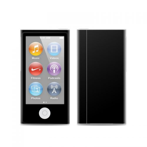 Solid State Black iPod nano 7th Gen Skin