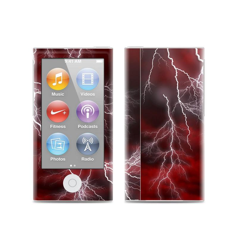 Apocalypse Red iPod nano 7th Gen Skin