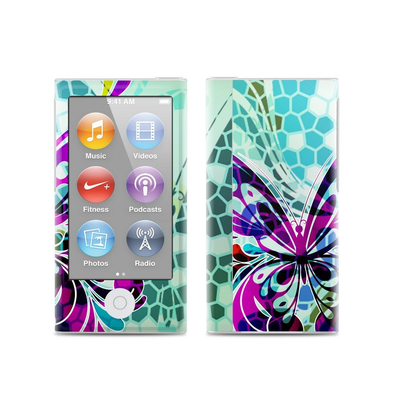 Butterfly Glass iPod nano 7th Gen Skin