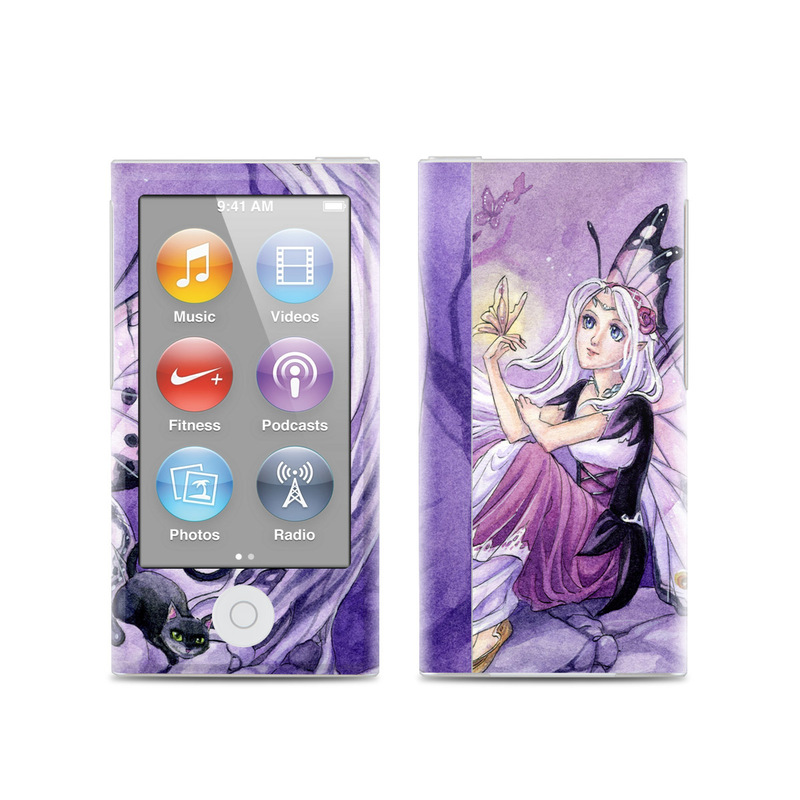 Chasing Butterflies iPod nano 7th Gen Skin