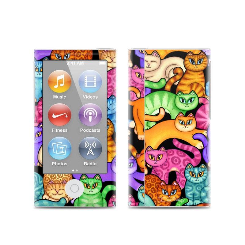 Colorful Kittens iPod nano 7th Gen Skin
