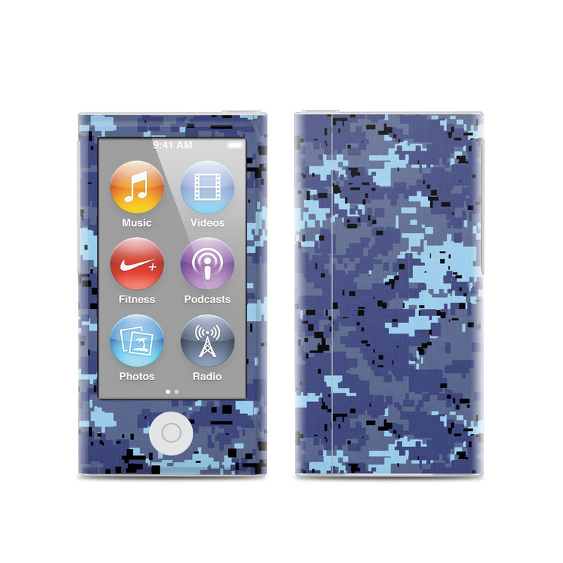 Digital Sky Camo iPod nano 7th Gen Skin