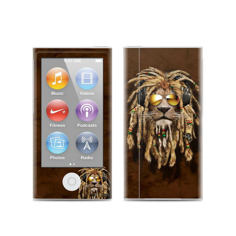 DJ Jahman iPod nano 7th Gen Skin