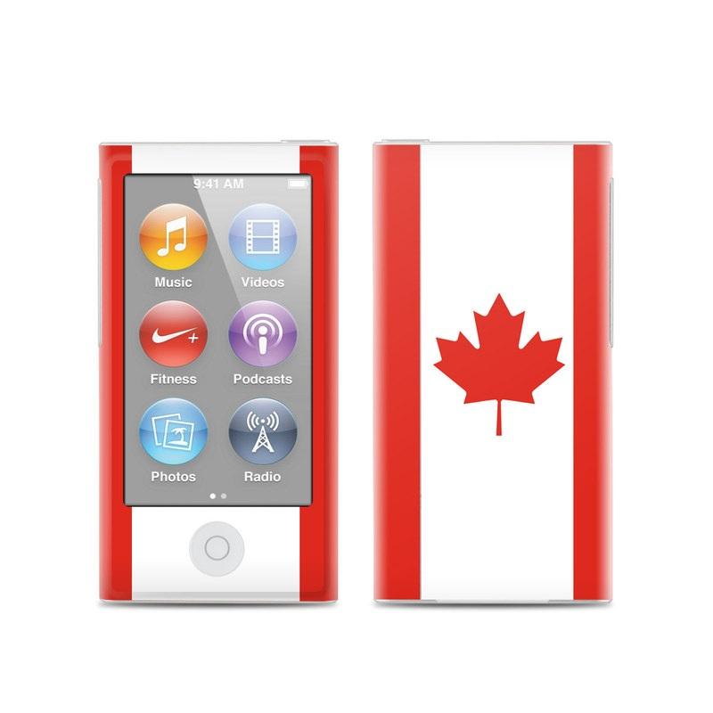 Canadian Flag iPod nano 7th Gen Skin