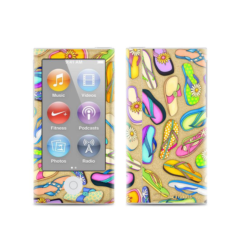 Flip Flops iPod nano 7th Gen Skin