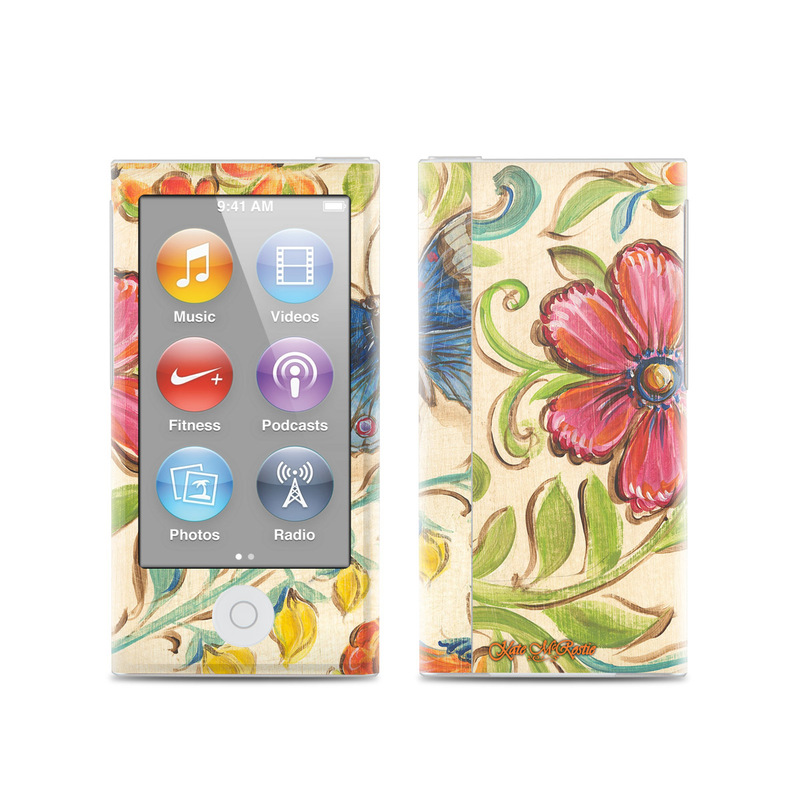 Garden Scroll iPod nano 7th Gen Skin