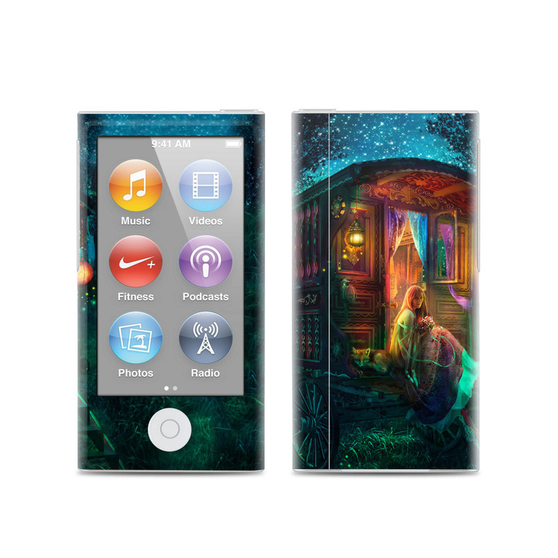 Gypsy Firefly iPod nano 7th Gen Skin