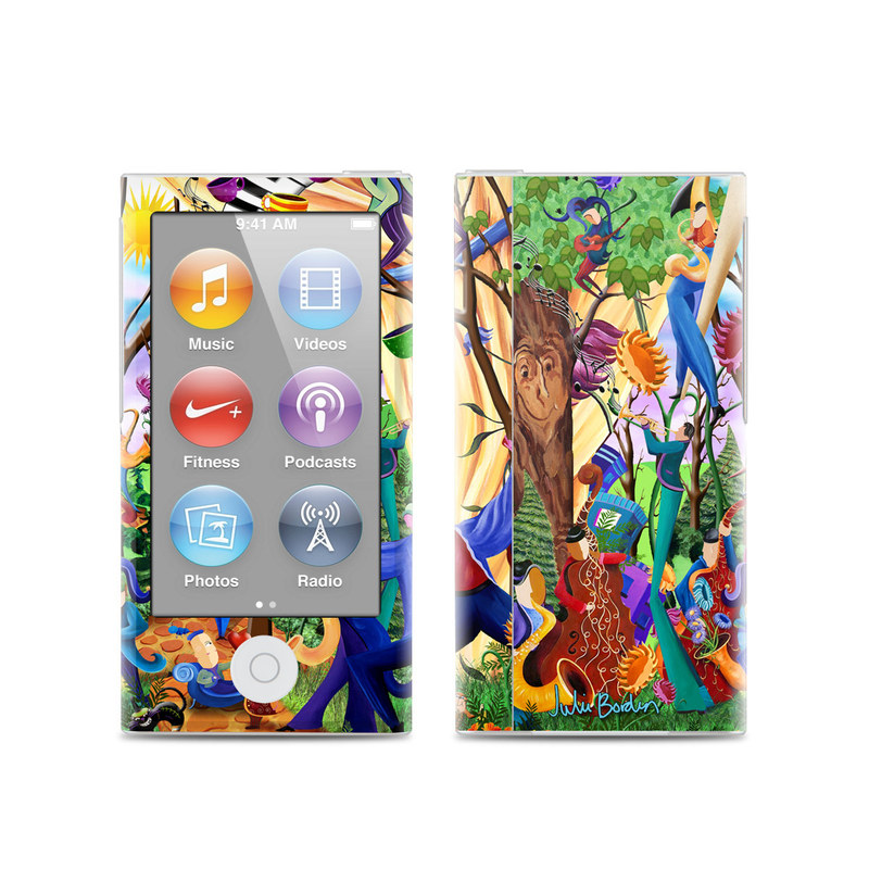 Happy Town Celebration iPod nano 7th Gen Skin
