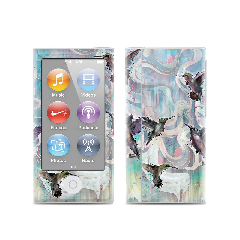 Hummingbirds iPod nano 7th Gen Skin