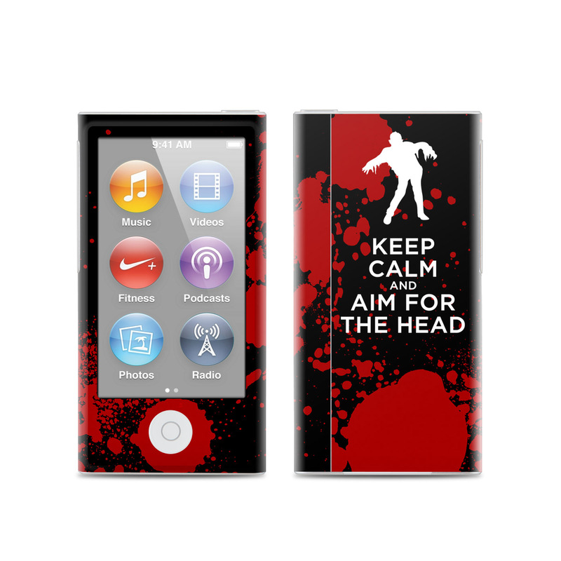 Keep Calm - Zombie iPod nano 7th Gen Skin