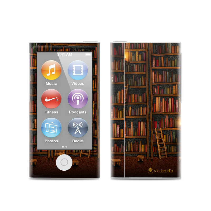 Library iPod nano 7th Gen Skin