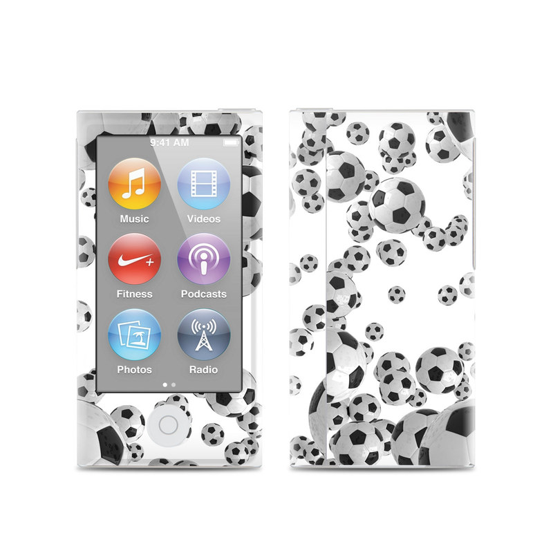 Lots of Soccer Balls iPod nano 7th Gen Skin