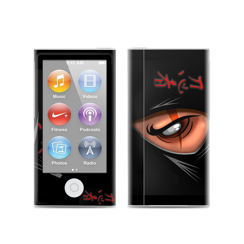 Ninja iPod nano 7th Gen Skin