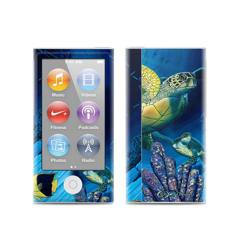 Ocean Fest iPod nano 7th Gen Skin