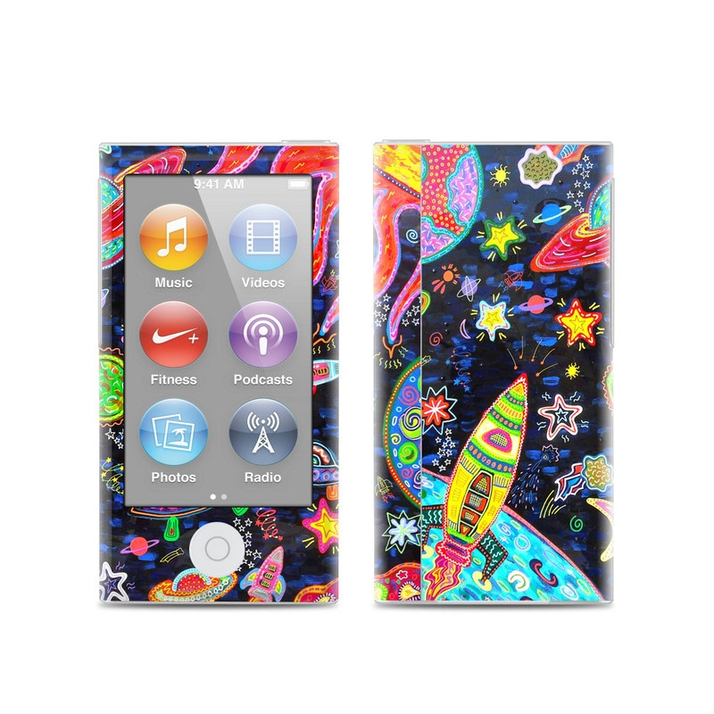 Out to Space iPod nano 7th Gen Skin