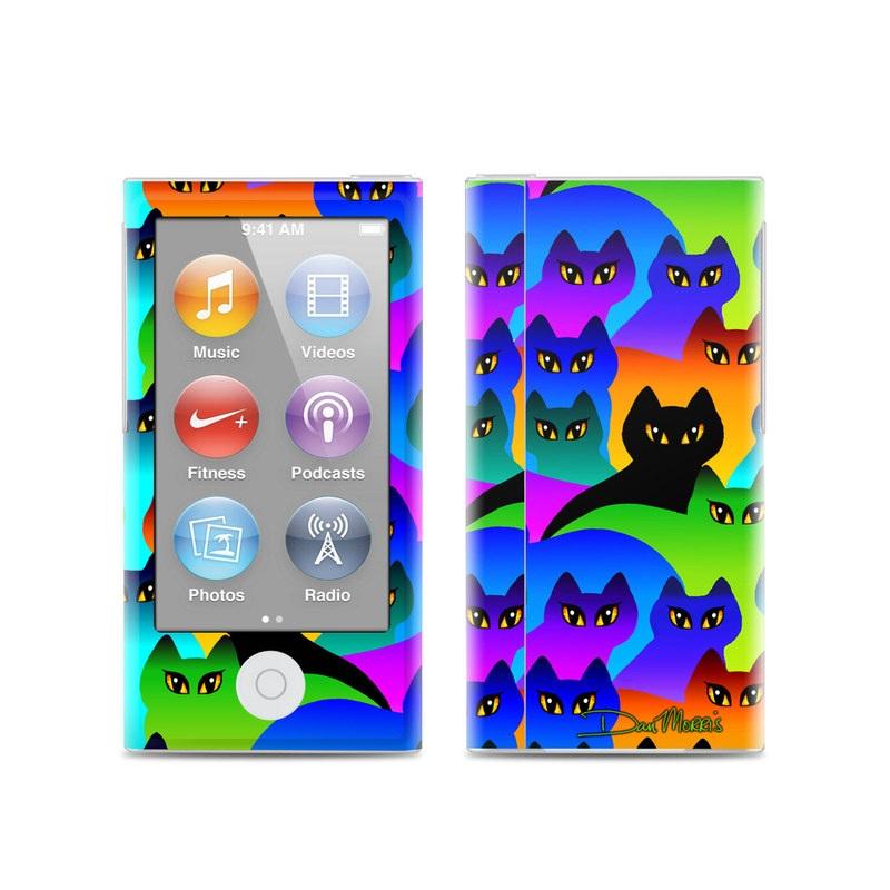 Rainbow Cats iPod nano 7th Gen Skin