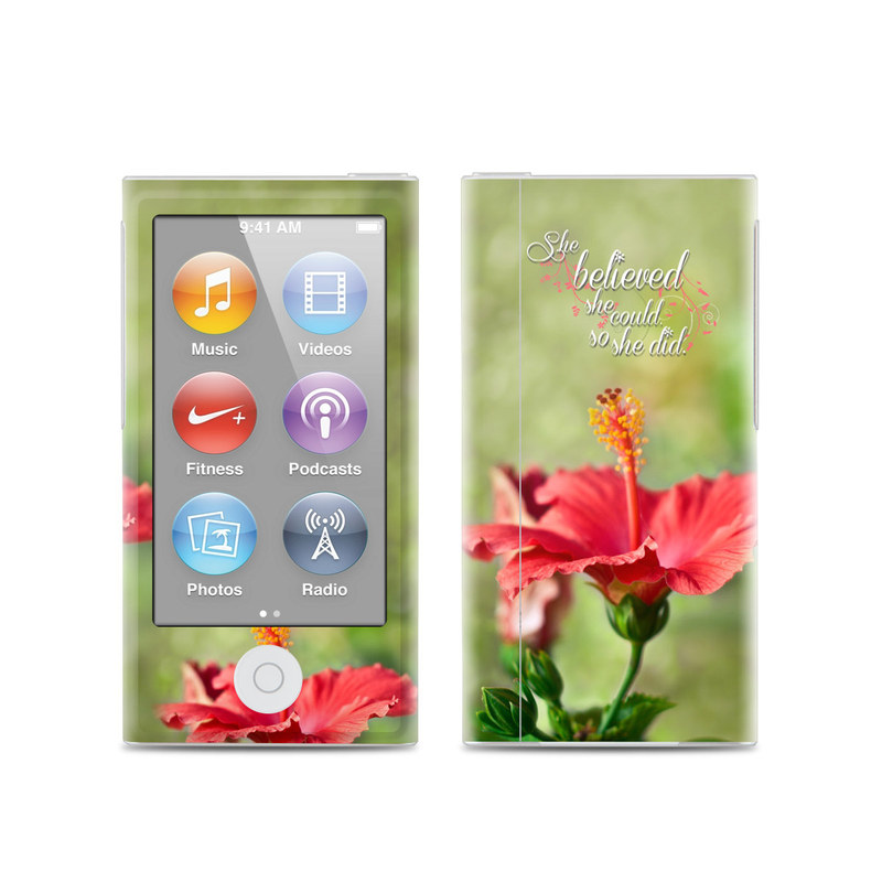 She Believed iPod nano 7th Gen Skin