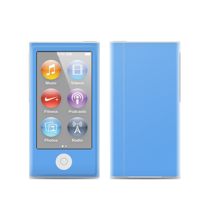 Solid State Blue iPod nano 7th Gen Skin