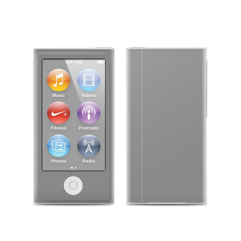 Solid State Grey iPod nano 7th Gen Skin
