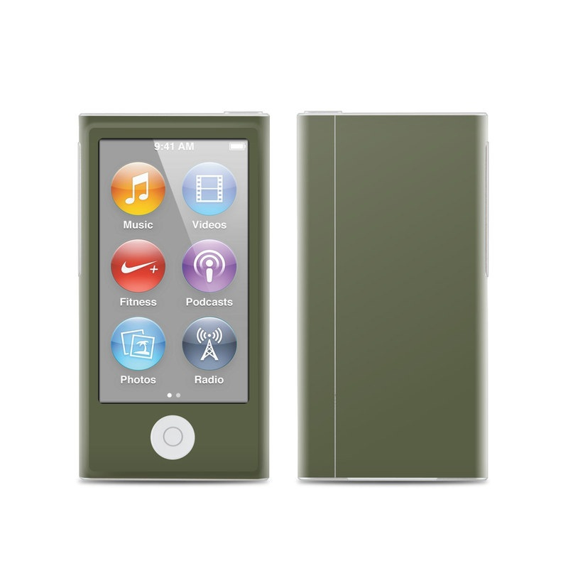 Solid State Olive Drab iPod nano 7th Gen Skin