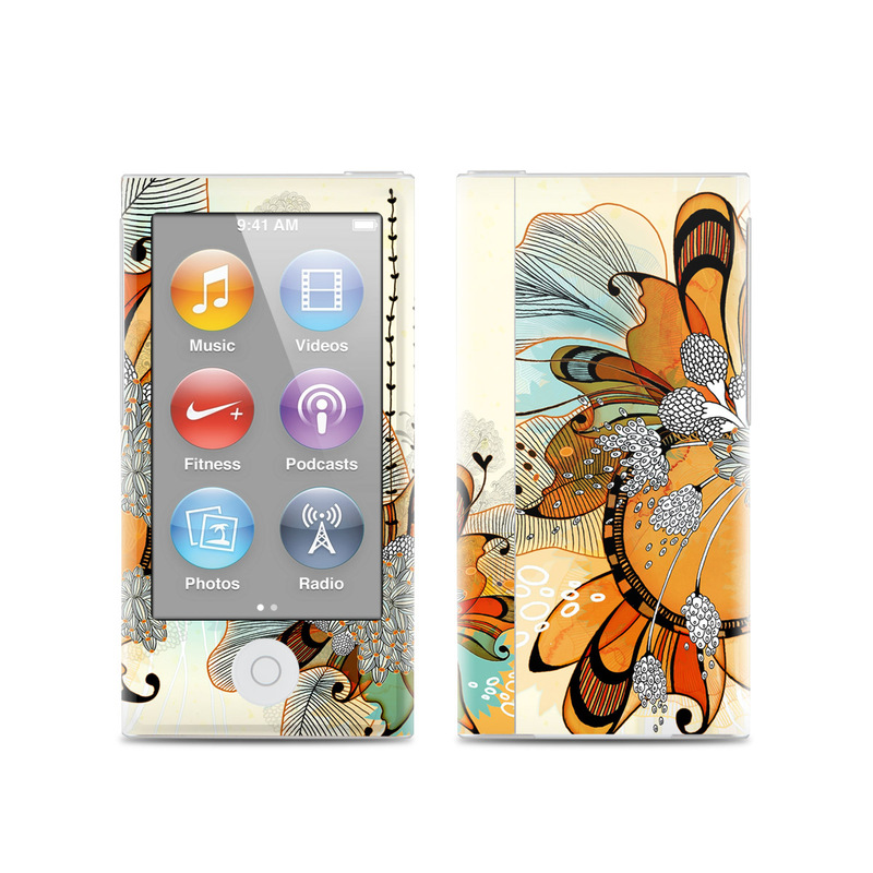Sunset Flowers iPod nano 7th Gen Skin