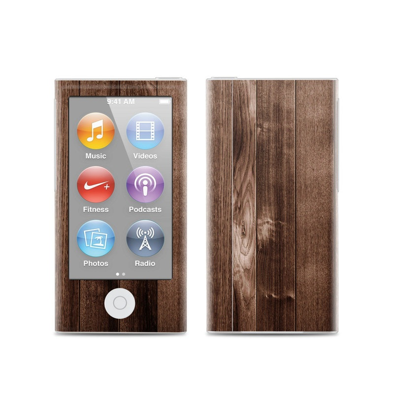 Stained Wood iPod nano 7th Gen Skin