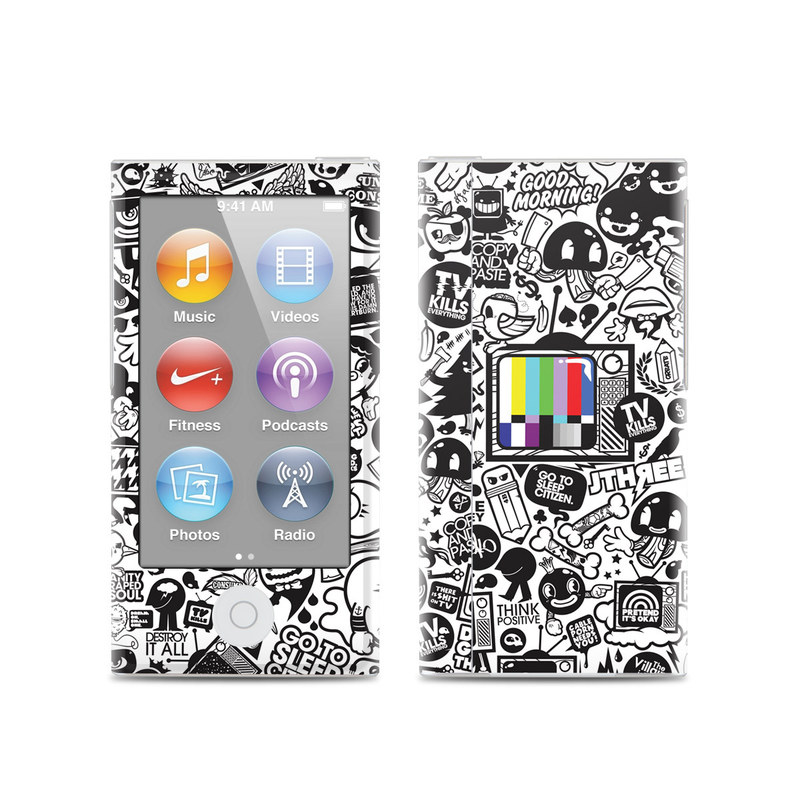 TV Kills Everything iPod nano 7th Gen Skin