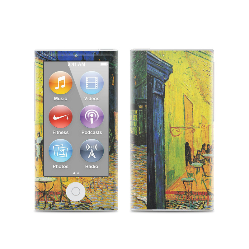 Cafe Terrace At Night iPod nano 7th Gen Skin
