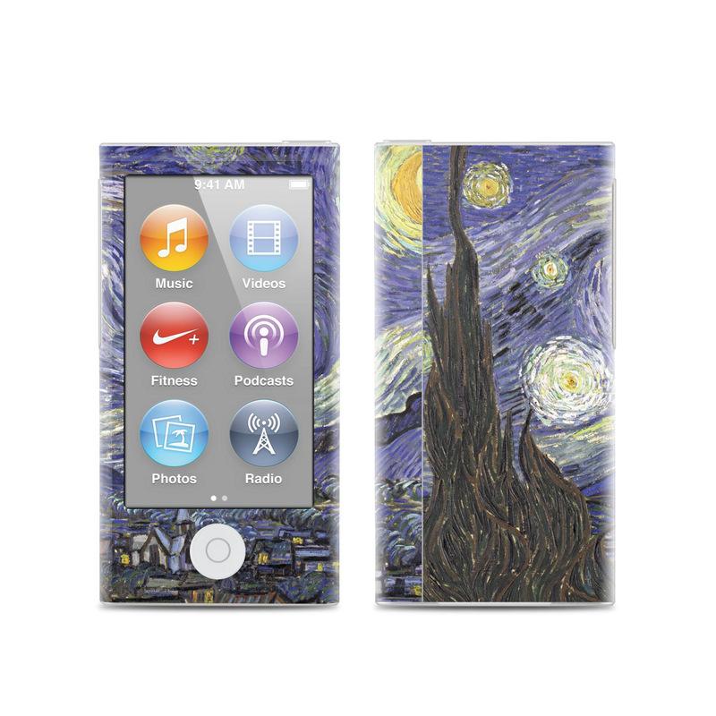 Starry Night iPod nano 7th Gen Skin