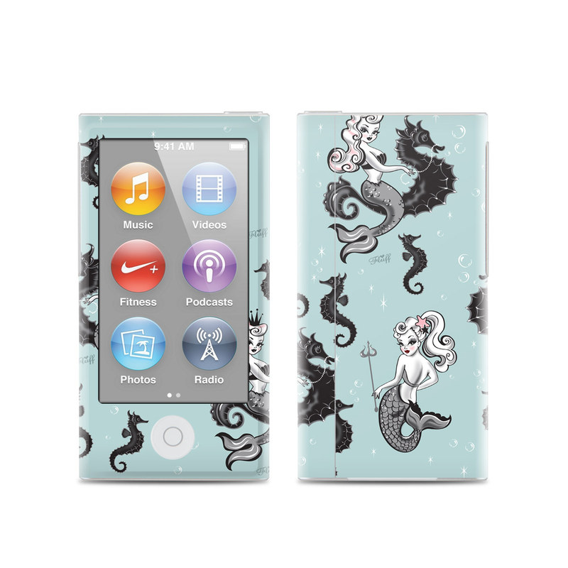 Vintage Mermaid iPod nano 7th Gen Skin