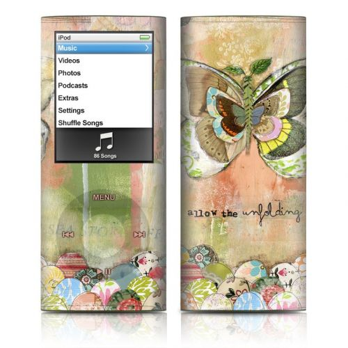 Allow The Unfolding iPod nano 4th Gen Skin