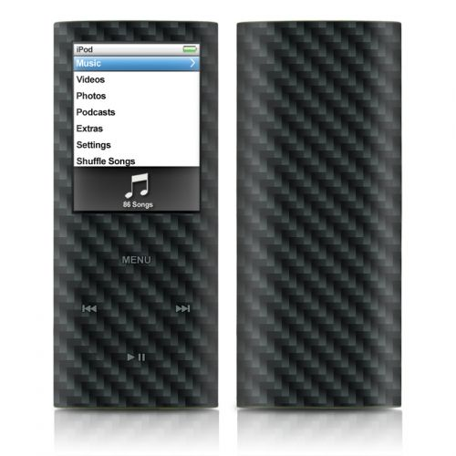 Carbon Fiber iPod nano 4th Gen Skin