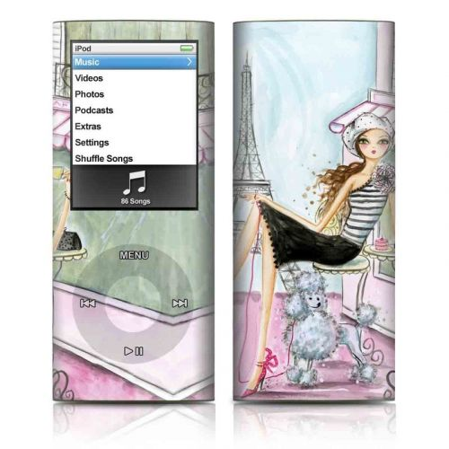 Cafe Paris iPod nano 4th Gen Skin