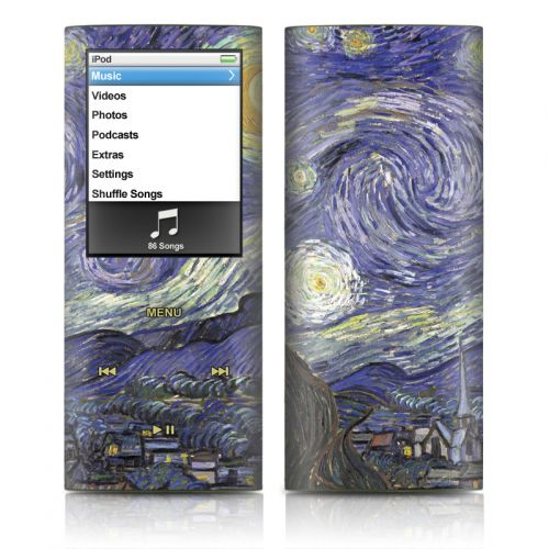 Starry Night iPod nano 4th Gen Skin