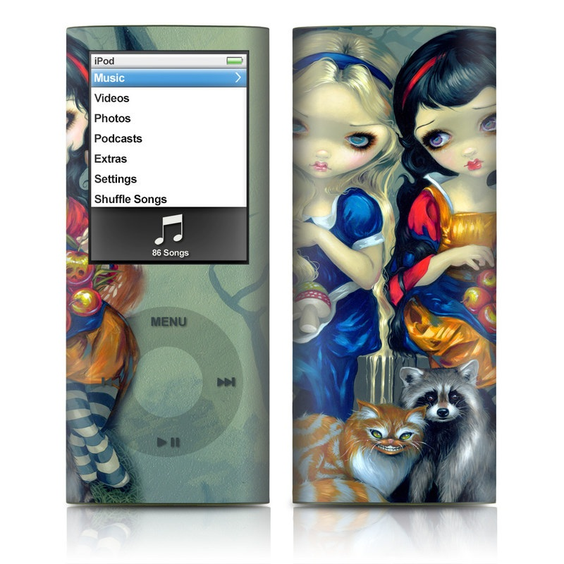 Alice & Snow White iPod nano 4th Gen Skin