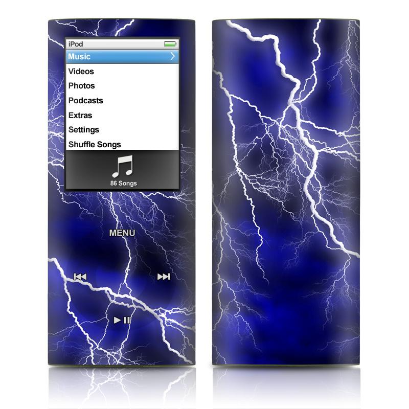 Apocalypse Blue iPod nano 4th Gen Skin