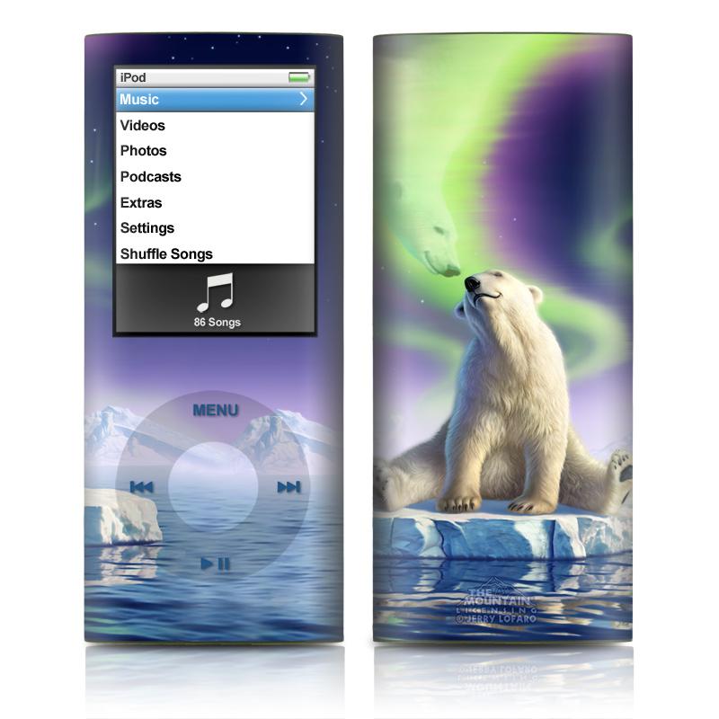 Arctic Kiss iPod nano 4th Gen Skin