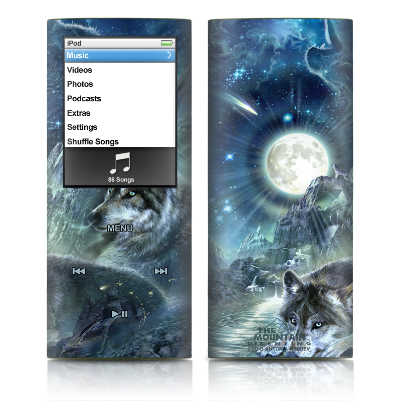 Bark At The Moon iPod nano 4th Gen Skin