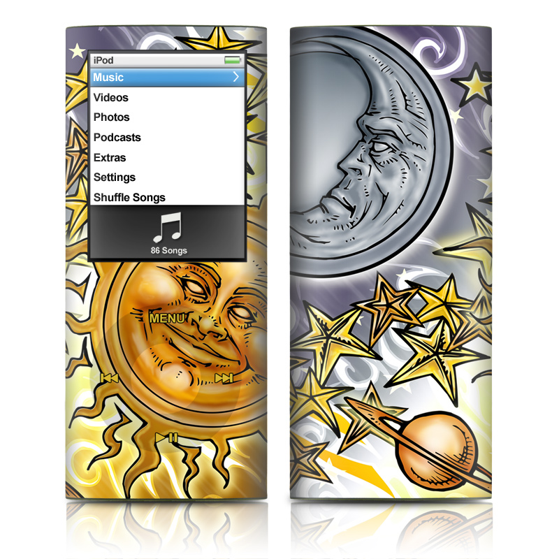 Celestial iPod nano 4th Gen Skin