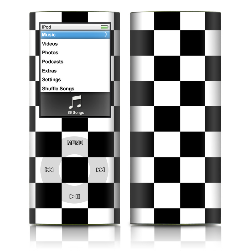 Checkers iPod nano 4th Gen Skin