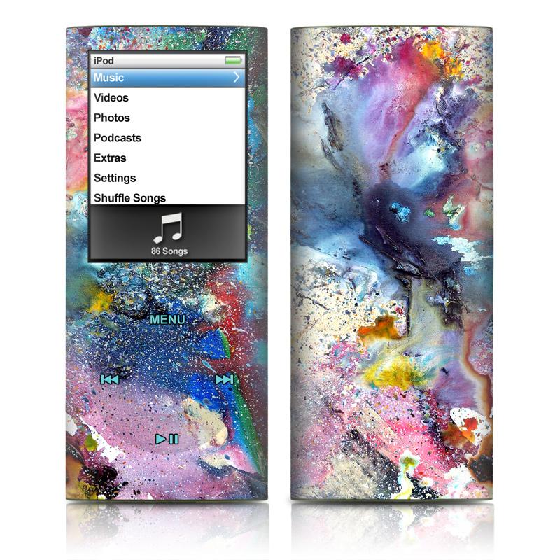 Cosmic Flower iPod nano 4th Gen Skin