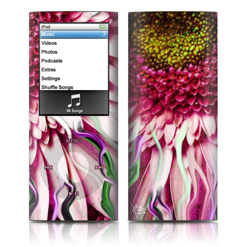 Crazy Daisy iPod nano 4th Gen Skin