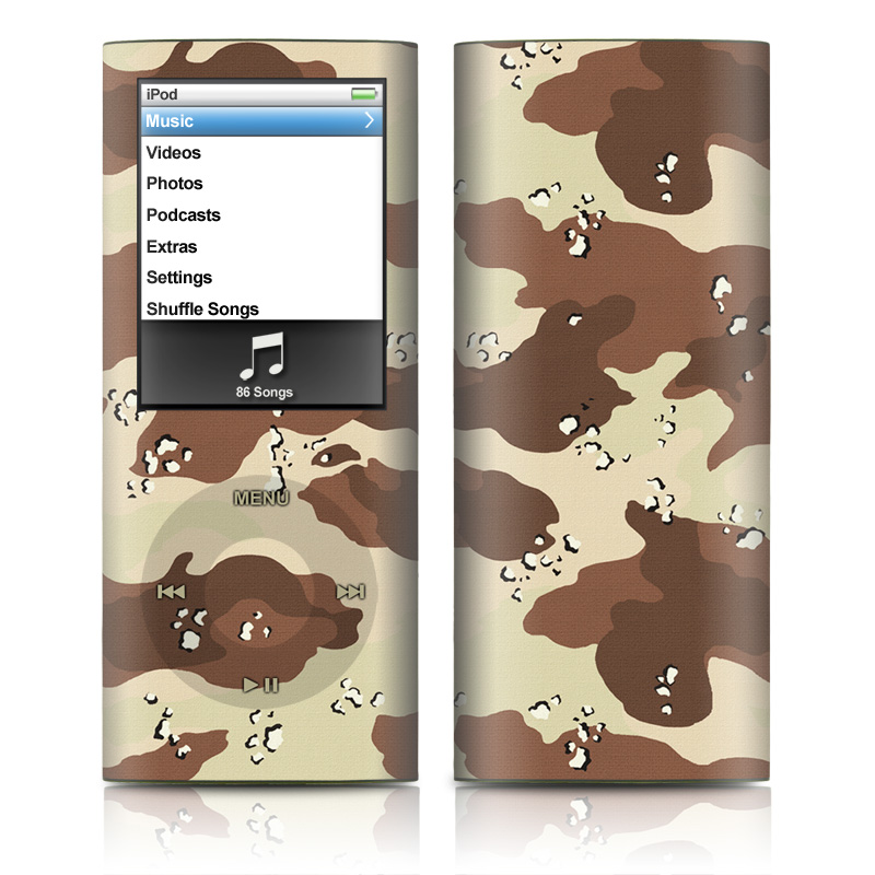 Desert Camo iPod nano 4th Gen Skin