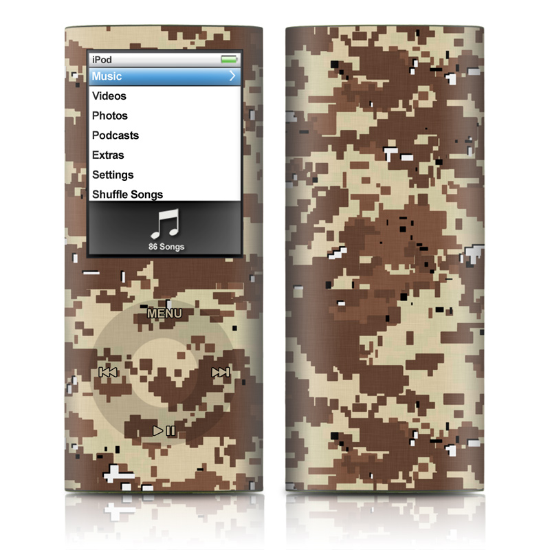 Digital Desert Camo iPod nano 4th Gen Skin