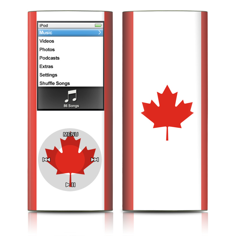 Canadian Flag iPod nano 4th Gen Skin