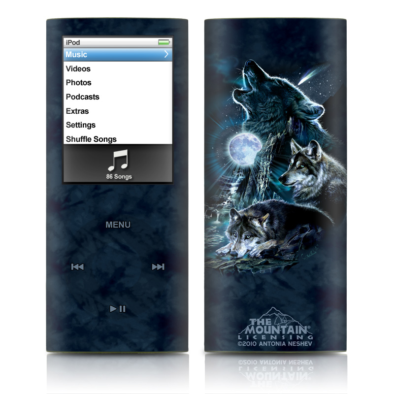 Howling iPod nano 4th Gen Skin